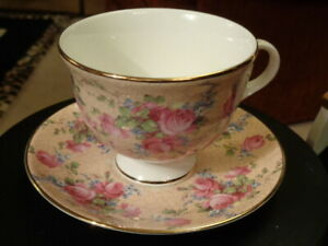 ROYAL GRAFTON CHINTZ CUP AND SAUCER ENGLAND BY TAMS   58