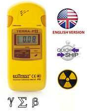 Dosimeter Detektor Terra-p+ MKS-05 Ecotest Strahlung Geiger Zähler Radiometr