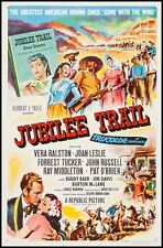 Jubilee Trail 1954 16mm Color Western Musical Melodrama Joan Leslie Vera Ralston
