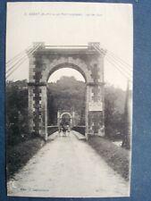 64, assat ,le pont suspendu en 1930