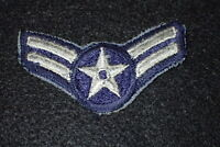 Korean War USAF Air Force Airman First Class Enlisted Rank Insignia Patch, Early