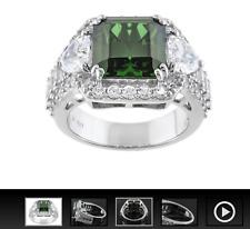 Charles Winston for Bella Luce 14.97ctw Emerald Simulant Diamond Simulant Ring 5