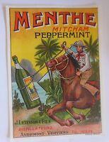 """""""Reklame, Menthe Mitcham Peppermint, Pfefferminze"""" 1950 ♥  (51773)"""