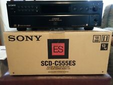SONY SCD-C555ES 5-disc SACD/CD Changer w/refurb. laser assembly & service manual