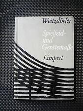 Rüdiger Weitzdörfer - Spielfeld- Und Gerätemaße
