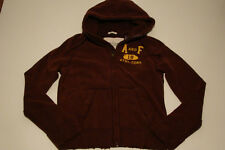 NWT ABERCROMBIE & FITCH BURGUNDY MUSCLE CUT HOODIE SWEATSHIRT MENS SIZE M