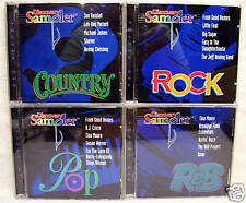 Discovery Sampler Rock Pop R&B Country 4 CDS Vol 1 USED