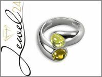 ESPRIT Damen Ring echt Silber 925 Sterling VIBRANT GREEN WHITE 56/17,8MM