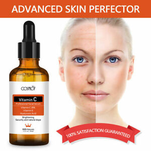 Vitamin C Pure 20% Strong Hyaluronic Acid Anti Aging / Wrinkle Face Serum