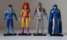 Funko ReAction DC TEEN TITANS Legion of Collectors figure lot - Cyborg Nightwing