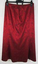 VERA MONT Occasion Line Skirt - Fantastic Red Colour -  Women's Size UK 16