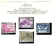 Pre-Decimal 4 Number British Colony & Territory Stamps