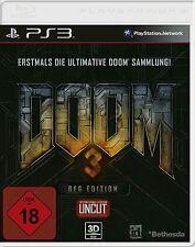 Sony PS3 Playstation 3 Spiel ***** Doom 3 BFG Edition 1 + 2 + 3 ******NEU*NEW*18