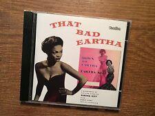 Eartha Kitt - That Bad Eartha Down to Eartha [CD Album]