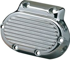 DRAG SPECIALTIES CHROME TRANSMISSION END SIDE COVER FOR HARLEY 1987-2006 FL & FX