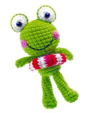 Frog M. Life Preserver Ring Häkel Pendant New Keyholder Crocheted Children