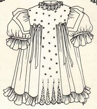 """3 sizes ,Sewing Clothes dress Pattern 12 13"""" Or 18-19"""" Or 21-22"""" U Pick Size"""