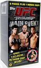 UFC 2010 Round 3 Main Event Trading Card BLASTER Box