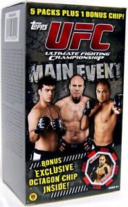 UFC 2010 Round 3 Main Event Trading Card BLASTER Box