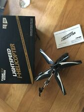 Lightspeed i-Helicopter Camera Drone iPhone iPad App RC Remote Controlled