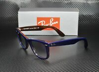 RAY BAN RB2140 12783F Wayfarer Blue Red Havana Clear Blue 50mm Unisex Sunglasses