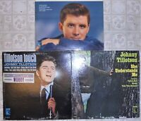 Johnny Tillotson, 3 Vinyl Record Lot, All LP & US 1st Press, Country Pop