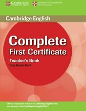 Complete First Certificate Teacher's Book by Brook-Hart, Guy Paperback Book The