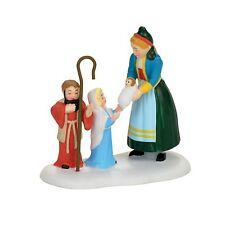 Dept 56 Av The Children's Nativity Accessory New 4056622 2017 D56 Alpine Village