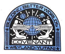 ALIEN COVENANT Weyland Yutani BBW Movie Deluxe Uniform Patch- BLUE (ALPA-68)