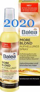 Blonde Hair Brightening Spray More Lightening Balea Professional Vegan 5oz