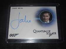 James Bond 007 Autograph Trading Card Jake Seal as Bartender Quantum of Solace