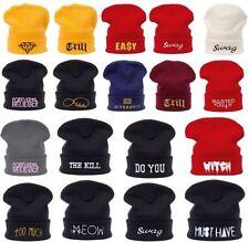 Cappelli da donna berretto bianco acrilico