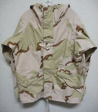 USGI DCU GORETEX PARKA, COLD WEATHER, SIZE: LARGE SHORT, USED