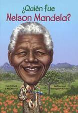 QUIEN FUE NELSON MANDELA?/ WHO WAS NELSON MANDELA? - NEW BOOK