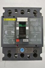 Square D Circuit Breaker Cat: GJL36050M05 3 Pole 50 Amp Motor Circuit Protector