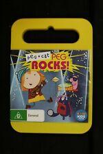 Peg + Cat - Peg Rocks! -  ( Yellow Case ) - ( ABC Kids) - Pre Owned - R4- (D145)