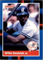 1988 Willie Randolph Donruss Baseball Card #228