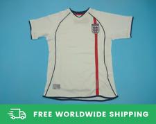 England 2002 World Cup Jersey Kit Shirt Owen Beckham Scholes Retro Sizes S-XXL