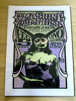 THE SMASHING PUMPKINS : MARDI GRAS CONCERT 97  : A4 GLOSSY REPRODUCTION POSTER