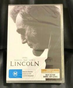 Lincoln (2013 : 1 Disc DVD) Brand New Sealed in Plastic Region 4