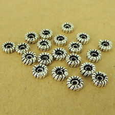 20 Pcs 925 Sterling Silver Spacers Celtic Vintage DIY Jewelry Making WSP458X20
