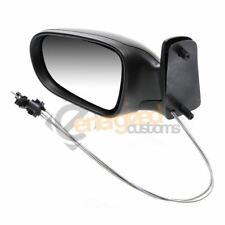 Ford Galaxy 2000-2006 Cable Adjust Wing Door Mirror Black Cover Passenger Side