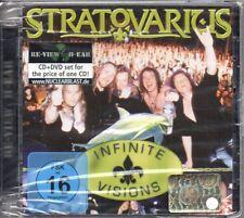 STRATOVARIUS - INFINITE VISIONS - CD+DVD (NUOVO SIGILLATO)