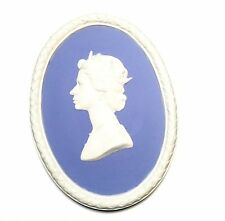 Wedgwood Jasperware Queen Elizabeth Plaque - Perfect Condition!