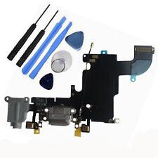 Conjunto de muelle de Puerto de Bloque De Carga Sync Cable Flexible Micrófono para iPhone 6S Herramientas Gris