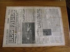 """14µ?  Revue Les Ailes """"Monde Aviation"""" n°1230 Le Cormoran / Handley Hermes IV"""