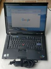 LENOVO THINKPAD R61i Intel Core 2 Duo 4GB RAM 160GB HDD WIFI LINUX MINT