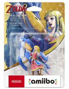 PSL NEW Nintendo amiibo ZELDA & LOFTWING SKYWARA SWORD Japan