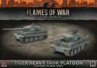Flames of War GBX107 - WWII Miniatures Game - Tiger Heavy Tank Platoon