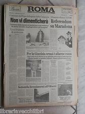 ROMA 14 Novembre 1990 Olivetti Andreotti Bush Antonio Pastore Zeman  Salernitana